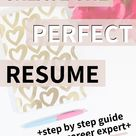 Five Steps To Creating A Great Resume | The Typical Twenty Something