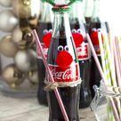 Cherry Coke Poke Cake and Easy Coke Bottle Reindeer - Embellishmints