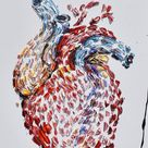 Heart Painting 25