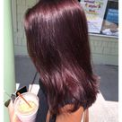 gorgeous hair color burgundy