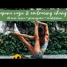 60 minute MORNING PRACTICE apana vayu & embracing change pranayama, meditation, asana | SARA TICHA