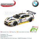 Modelauto 118   Minichamps 155162623   BMW M6 GT3   Rowe Racing 2016 23 Germany / N&252;rburgring / 24 Hours