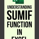 Excel Functions SUMIF Introduction + Examples