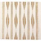 Yellow Bohemian Bathroom Rug with Tassels, Boho Mat (23.6 x 35 Inches)
