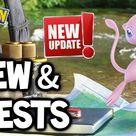 MEW & QUESTS FINALLY RELEASED IN POKÉMON GO!!! (NEW MEW & QUEST POKEMON GO UPDATE!)