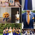Royal Blue Wedding Dresses