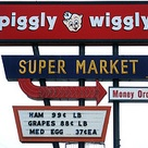 Piggly Wiggly Grocery Store sign   Tulsa Oklahoma