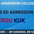 B.ed Admission 2021 Mdu Crsu kurukshetra University Online Form Last Date