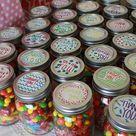 Mason Jar Candy