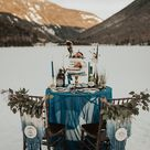A Beautiful Styled Wedding Shoot in The White Mountains | Festival Brides