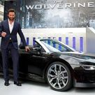 Hugh Jackman Shows Up To Wolverine Premiere In An Audi R8