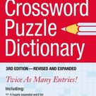 New American Crossword Puzzle Dictionary: 3rd Edition--Revised and Expanded by Philip D. Morehead 045121255X 9780451212559
