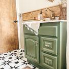 Small Boho Bathroom