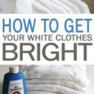 How To Get Bright White Clothes-Cleaning-101daysoforganization.org