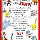 Dr Seuss Invitations