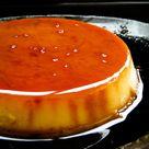 condensed milk baked caramel pudding.   ISLAND SMILE