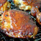 Sticky Chicken Thighs