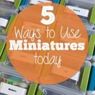 5 Quick Ways to Use Miniatures in Speech Today! - Activity Tailor