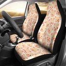 Pig Pattern Custom Car Seat Covers