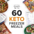 60 Keto Freezer Meals