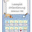 Lesespiel Mathe Orientierung im ZR 1000 – Unterrichtsmaterial im Fach Mathematik