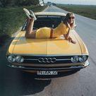 Audi 100 coupe ad