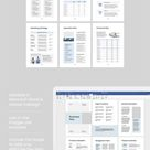 Business Plan Brochure Template / 12 Pages