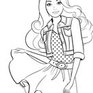 Barbie Coloring Pages | 105 images Free Printable