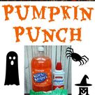 Pumpkin Punch Recipe for Halloween   Mama Cheaps®