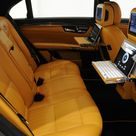 2012 BRABUS 800 based on Mercedes Benz S Class Rear Seats