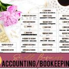Small Business Accounting Kit// Bookkeeping Forms// Balance Sheet// Accounts Receivable// Profit and Loss// Invoice// Inventory// Cash flow