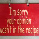 Funny Kitchen Signs