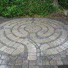 patio labyrinth