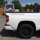 2014-2021 Toyota Tundra TRD PRO Bed Tailgate Vinyl Lettering Decals Stickers Graphics