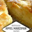 Weltklasse Apfel Marzipan Kuchen