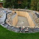 Toll in den Garten integrierter Schwimmteich mit Bachlauf | Oase Teichbau