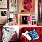 Pink and Red Interiors Done Right - Arie + Co.