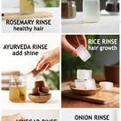 Hair Rinse for a healthy scalp and stronger hair - The Little Shine