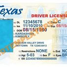 texas id card template