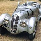 1936 BMW 328 Roadster Silver Fvl   Cars Wallpaper