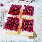Bester Kirsch-Schmand-Kuchen vom Blech