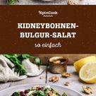 Kidneybohnen-Bulgur-Salat