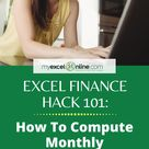 Excel Finance Hack for your Investment