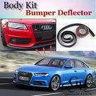 24.07US $ 33 OFF Bumper Lip Lips For Audi A6 S6 RS6 2004~2015 / Car Lip Shop Spoiler Scratch Proof Adhesive / Car Lip Skirt Body Kit + Strip car spoiler car spoiler kitsspoilers for cars   AliExpress