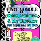 SPACE INTERACTIVE NOTEBOOK BUNDLE: Stars, Galaxies, and Universe