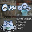 Mustache Theme Parties