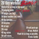 20 Day Workouts