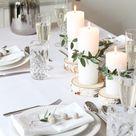 Minimalistische & Festliche Tischdekoration zum Weihnachtsfest   Alexandra Winzer
