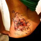 Lily Flower Tattoos