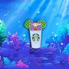 Little Mermaid Castle Coffee Cup Pin   Etsy